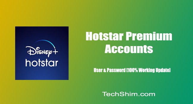Hotstar Premium Accounts