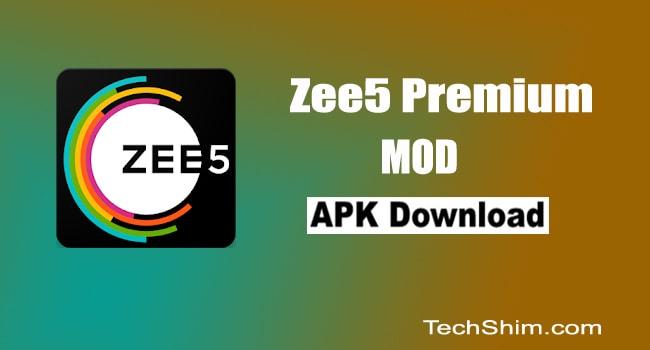 Zee5 Premium Mod Apk Download